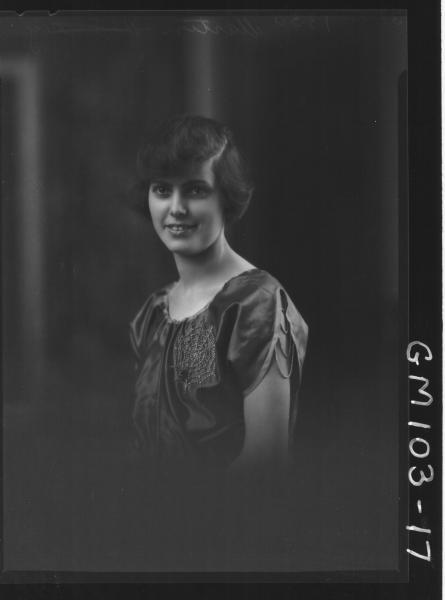 PORTRAIT OF WOMAN, MARTIN