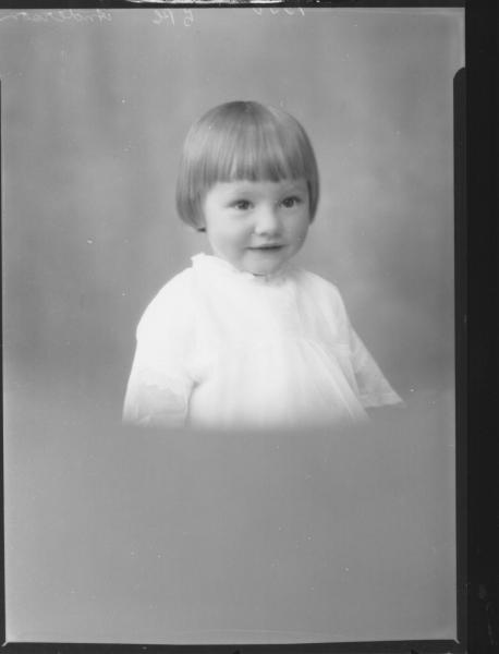 PORTRAIT OF CHILD, ANDERSON