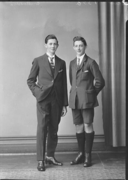 PORTRAIT OF MAN AND BOY, DALMEDIA
