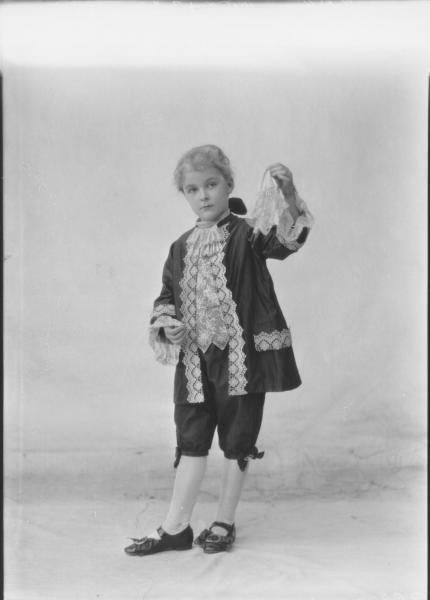 PORTRAIT OF CHILD FANCY DRESS, EAST