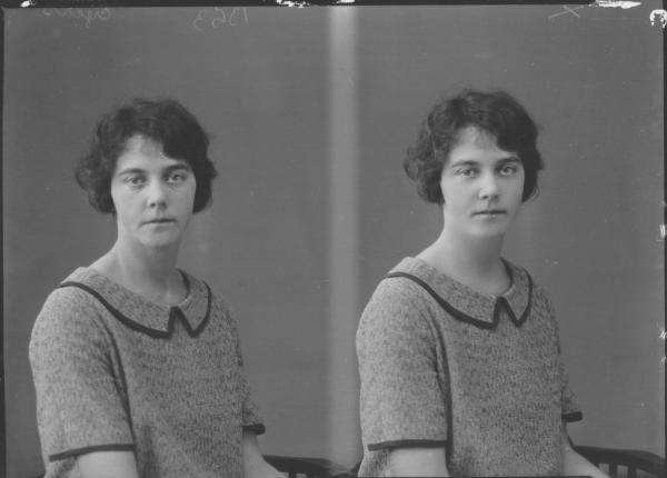 PORTRAIT OF WOMAN, EYERS