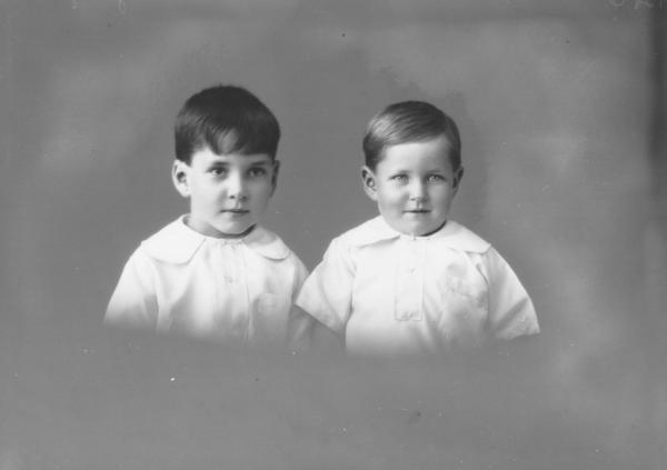 PORTRAIT OF TWO CHILDREN, GEORGE