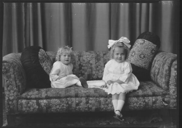 PORTRAIT OF TWO CHILDREN, GRIFFITHS
