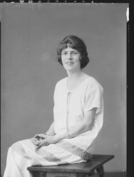 PORTRAIT OF WOMAN, GRIFFITHS