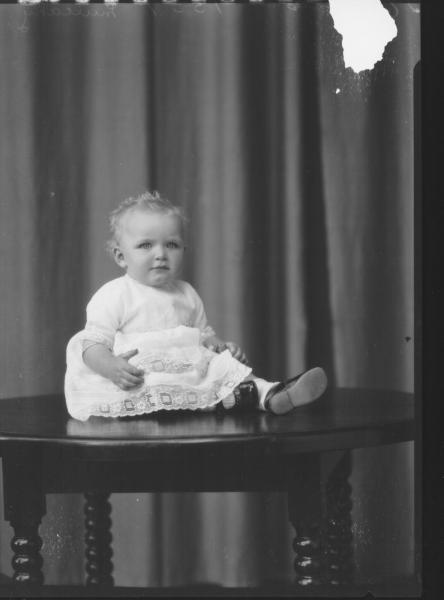 PORTRAIT OF BABY,  MULCAHY