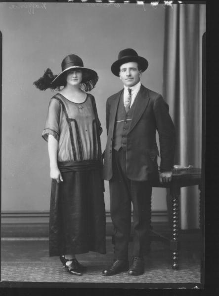 PORTRAIT OF MAN AND WOMAN, MAFFINA