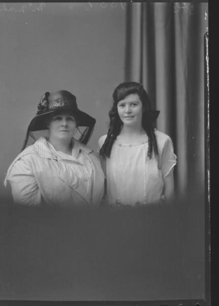 PORTRAIT OF TWO WOMAN, MCMAHON