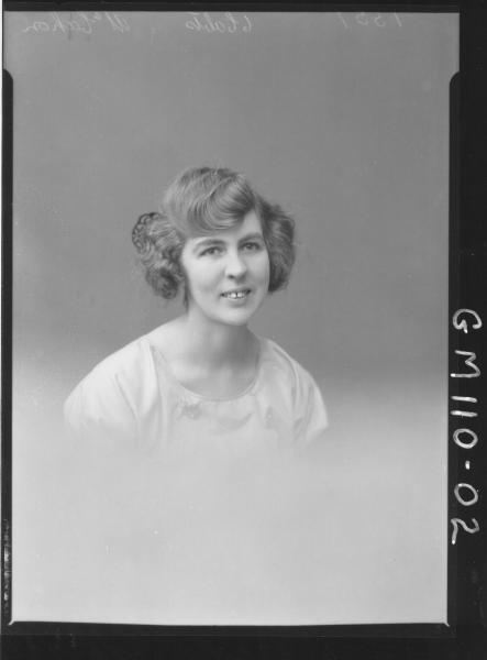 PORTRAIT OF WOMAN, MCCAHON