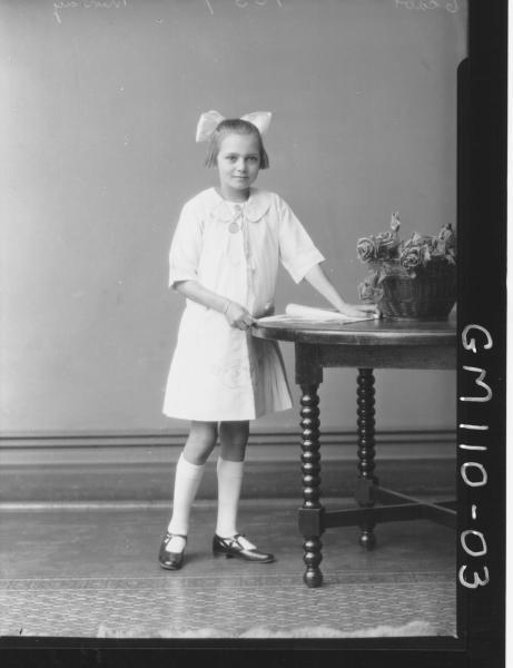 PORTRAIT OF GIRL, MURRAY