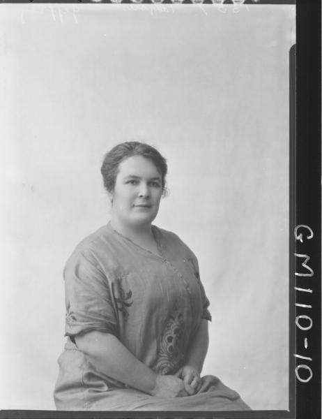 PORTRAIT OF WOMAN, JEFFREY