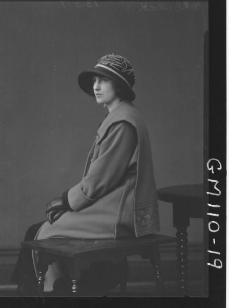 PORTRAIT OF WOMAN, MCCULLOCK