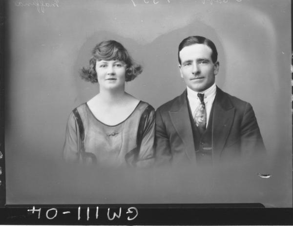 PORTRAIT OF WOMAN AND MAN, MAFFINA