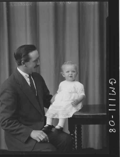 PORTRAIT OF MAN AND BABY, MULCAHY