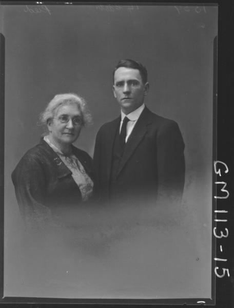 PORTRAIT OF MAN AND WOMAN, REID