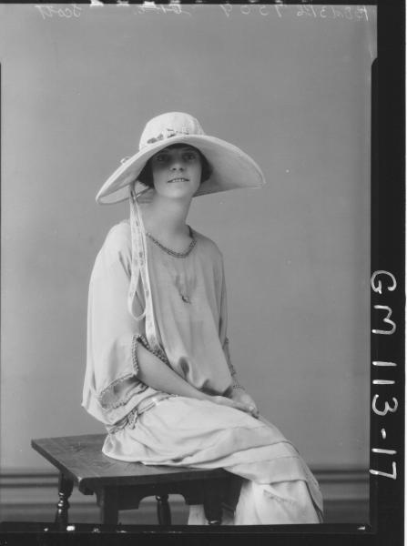 PORTRAIT OF WOMAN, SCOTT