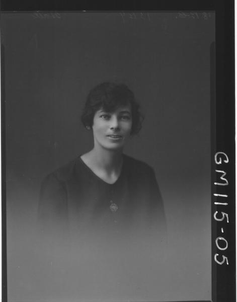 PORTRAIT OF WOMAN, HALL
