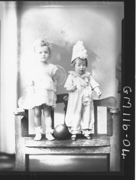 PORTRAIT OF TWO CHILDREN, THOMAS