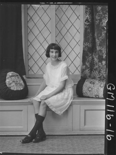 PORTRAIT OF GIRL, FOX