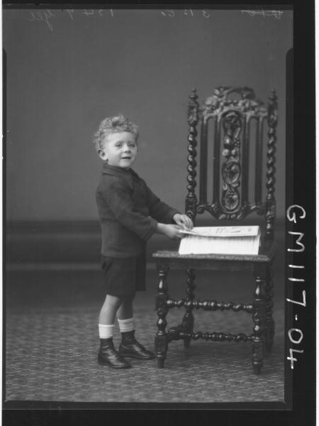 PORTRAIT OF CHILD, GEE