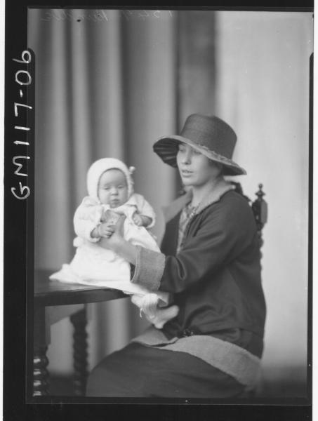 PORTRAIT OF WOMAN AND BABY, RUNDLE