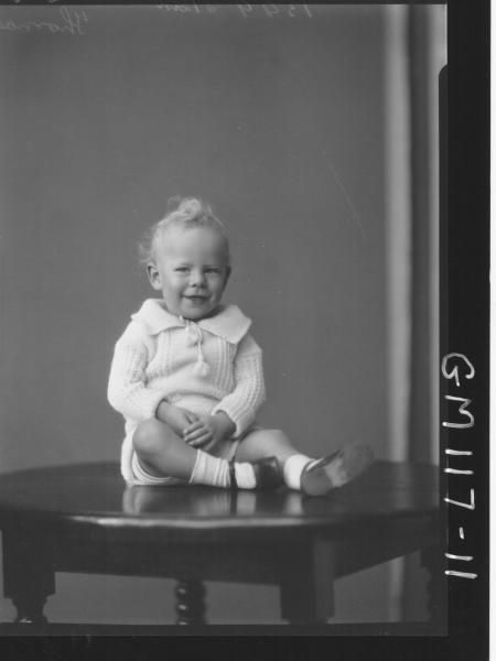 PORTRAIT OF CHILD, THOMAS