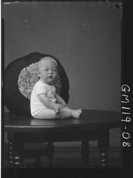 PORTRAIT OF BABY, CULLEN