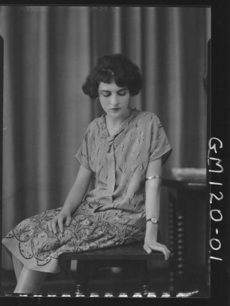 PORTRAIT OF WOMAN, 'LINTON'