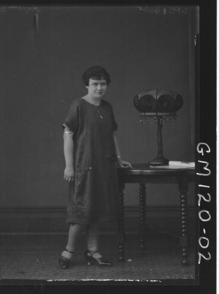 PORTRAIT OF WOMAN, 'LYONS'