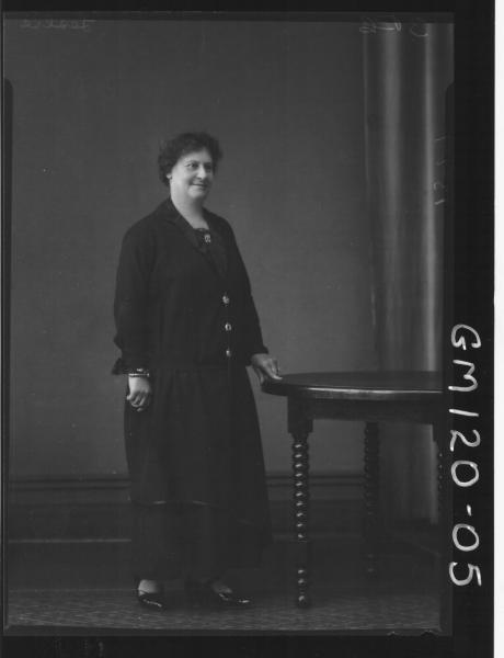 PORTRAIT OF WOMAN, 'LESLIE'
