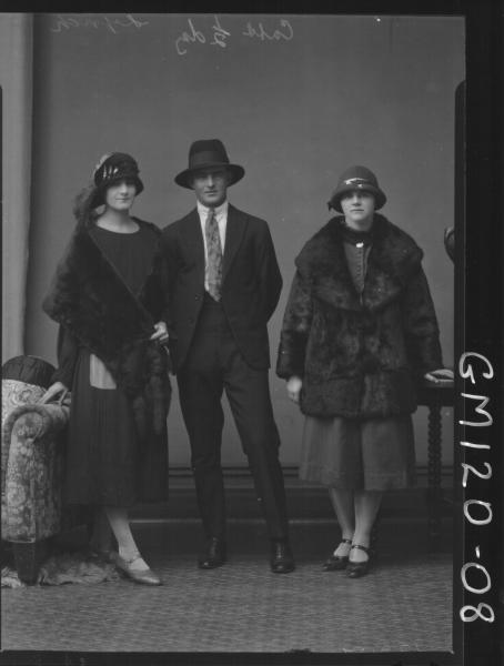 PORTRAIT OF TWO WOMEN, ONE MAN, 'LYNCH'