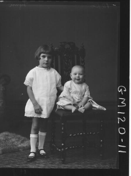 PORTRAIT OF TWO CHILDREN, 'LYNN'
