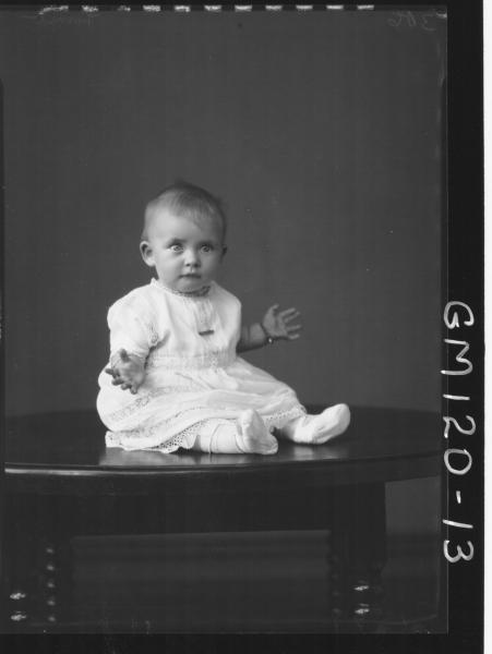 PORTRAIT OF BABY, 'LAMB'