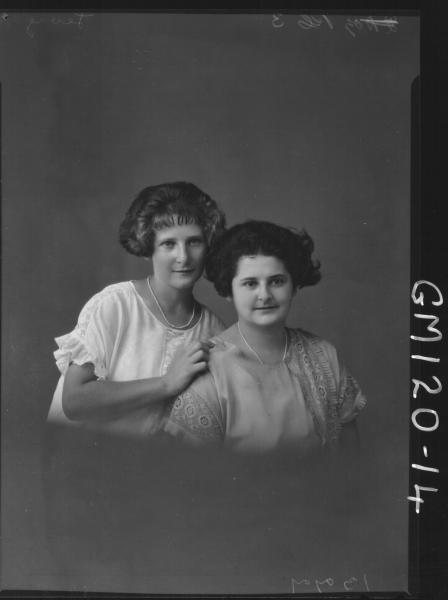 PORTRAIT OF TWO WOMEN, 'LEVY'