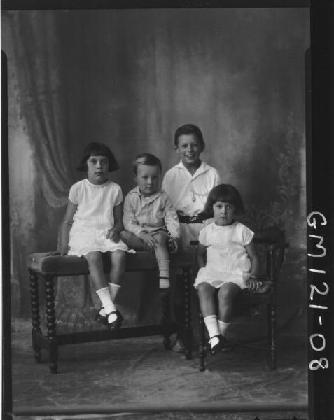 PORTRAIT OF FOUR CHILDREN, 'FERGUSON'