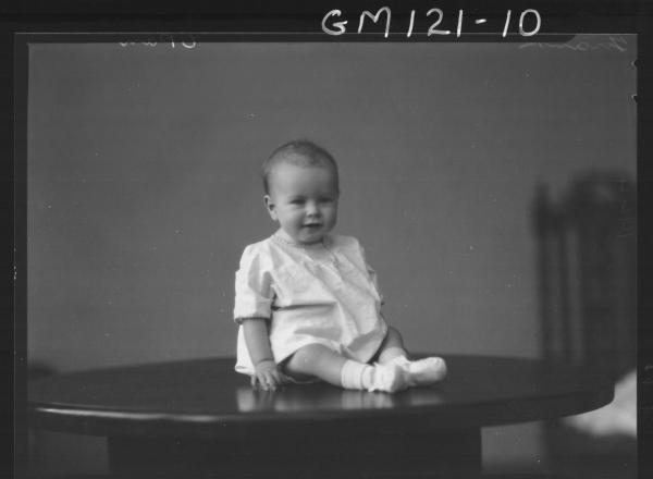 PORTRAIT OF BABY, 'FRANK'