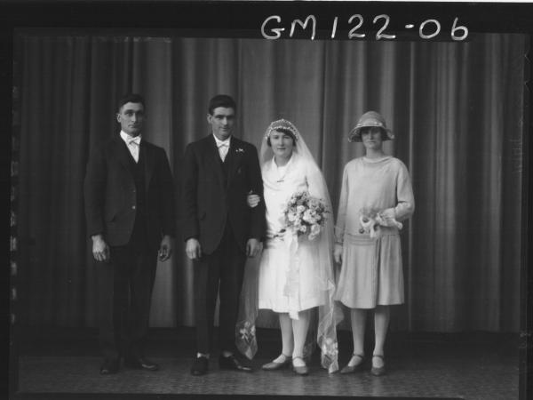 PORTRAIT OF WEDDING GROUP, 'DAVEY'