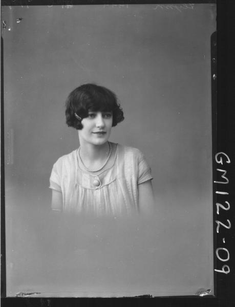 PORTRAIT OF WOMAN, 'FLYNN'