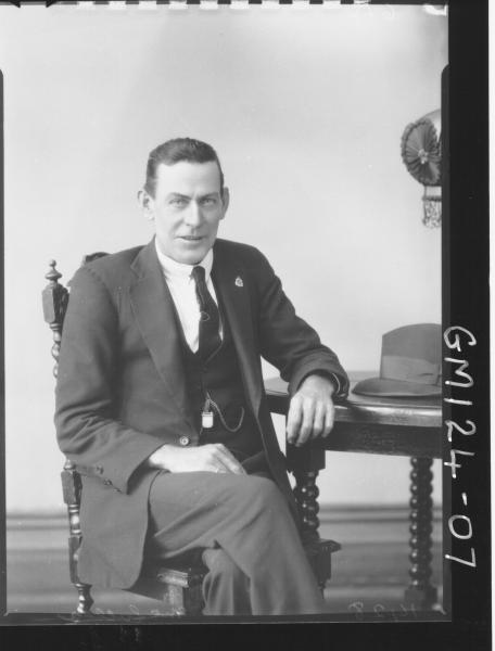 Portrait of man 'McLuelea'