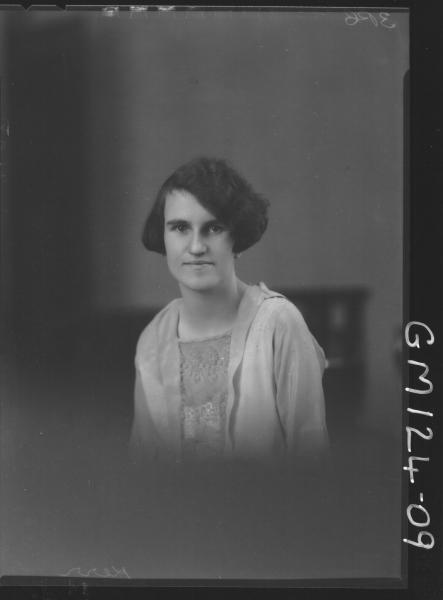 Portrait of woman 'Kerr'