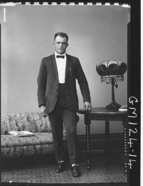 Portrait of man 'Moroni'