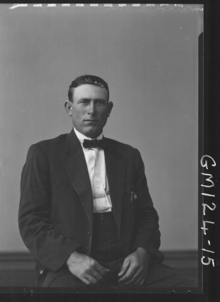 Portrait of man 'Shine'