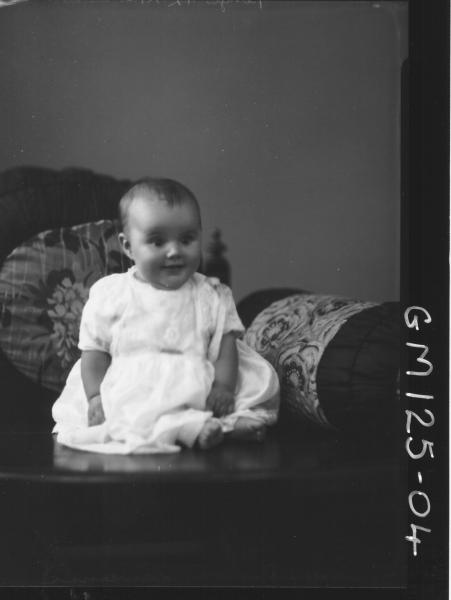Portrait of baby 'Lawrence'