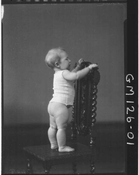 Portrait of baby 'Low'