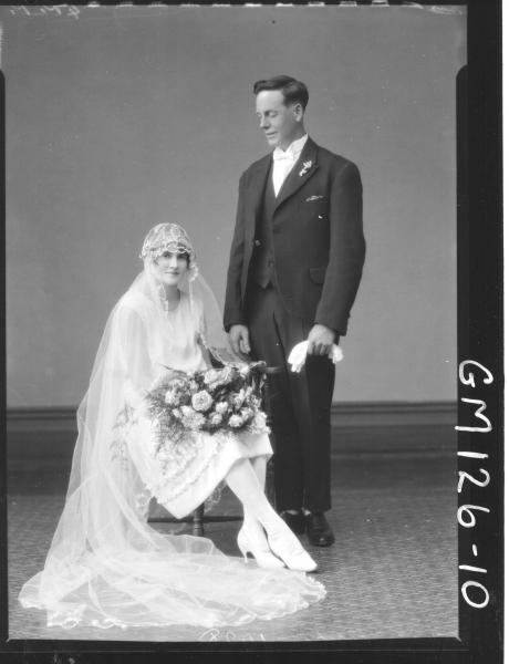 Portrait of bride and groom 'McCullock'