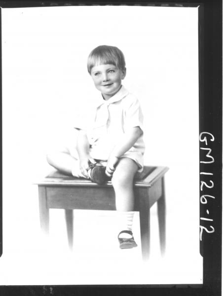 Portrait of child 'McBride'