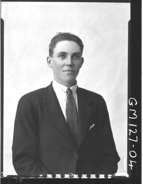 Portrait of man 'Moran'
