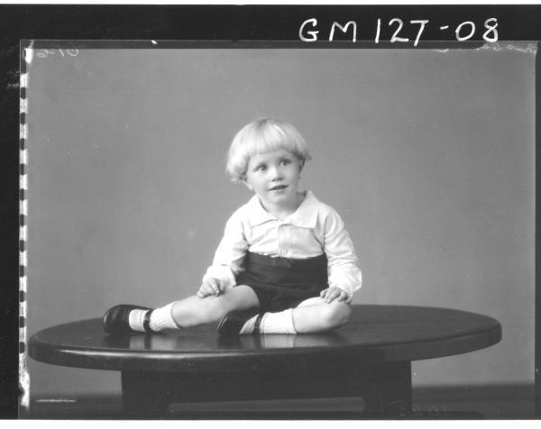 Portrait of child 'McCahon'