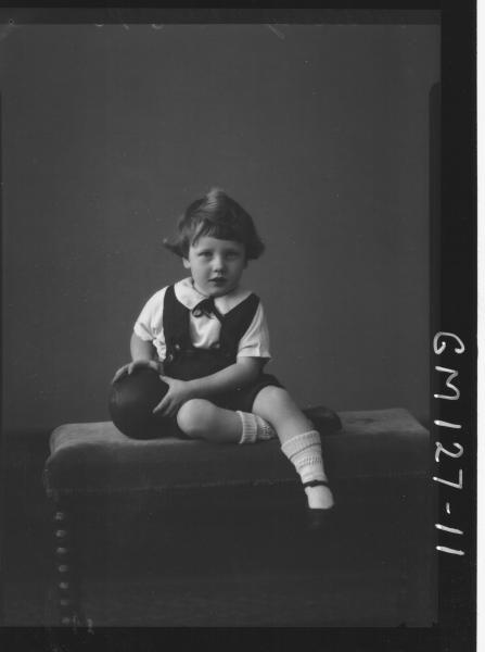 Portrait of child 'McInerny'