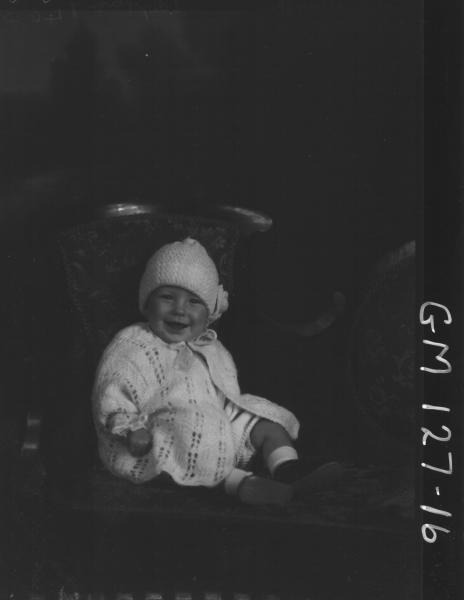 Portrait of baby 'Marsh'