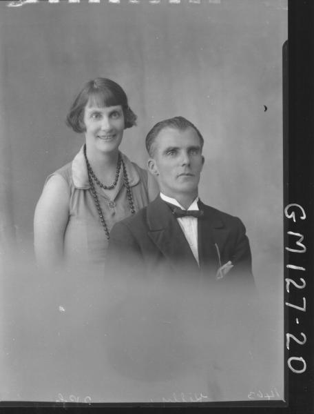 Portrait of man and woman 'Kelly'